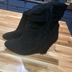 Inc - women's suede ankle boots